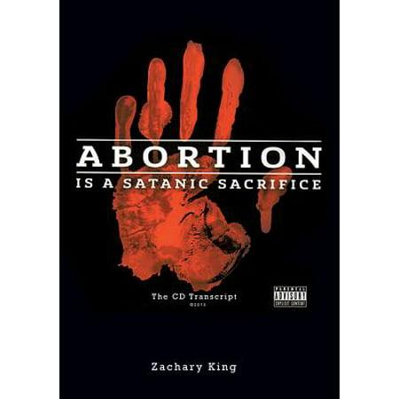 Abortion Is a Satanic Sacrifice : The CD Transcript