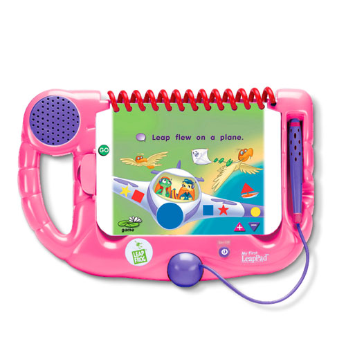 LeapFrog My First LeapPad Learning System, Pink