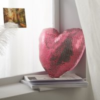 Sequin Heart Decorative Pillow for Kids by Better Homes & Gardens