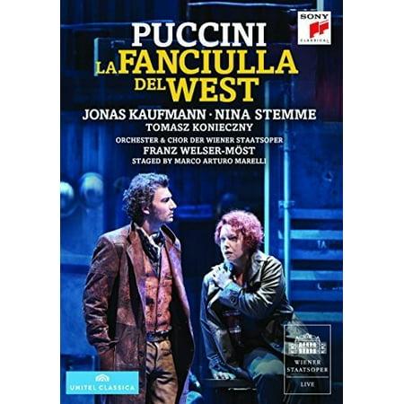 La Fanciulla Del West (DVD)