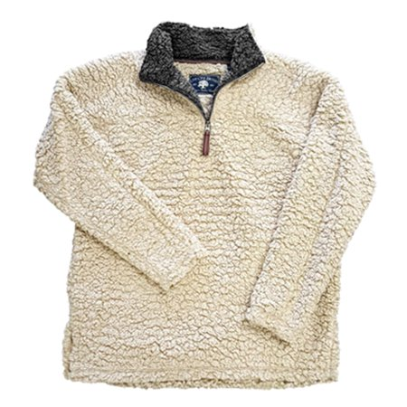 Live Oak Youth 1/4 Zip Frosted Fleece Pullover