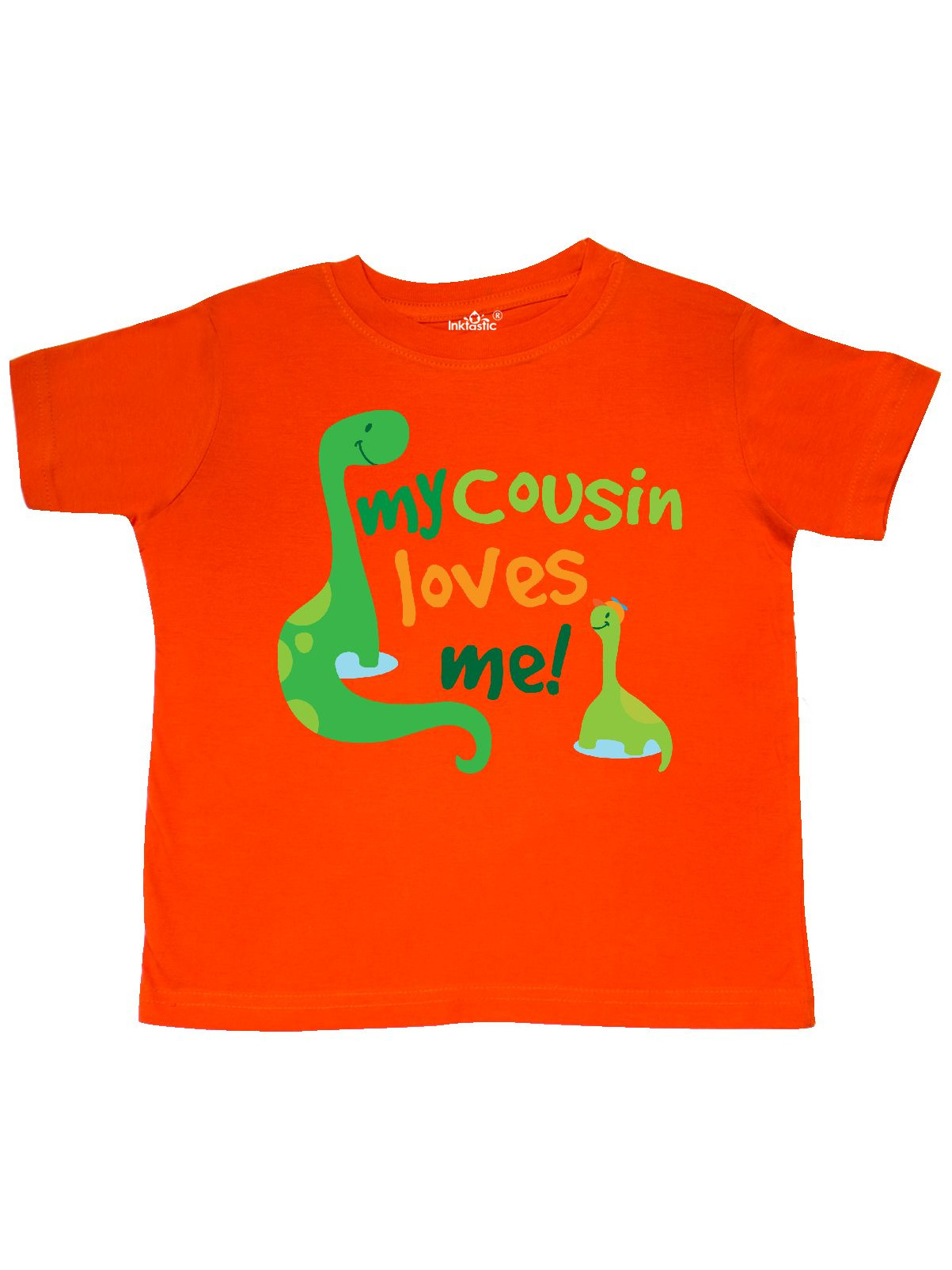 My Cousin Loves Me dinosaur Toddler T-Shirt