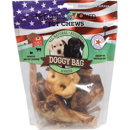 Best Buy Bones-Usa Doggy Bag Chew Treats- Assorted 12