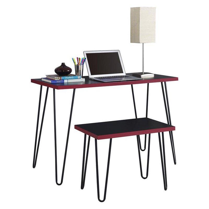 Altra Furniture Owen Retro Writing Desk With Stool