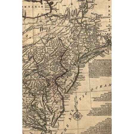 Poetose Notebooks: A general map of the middle British colonies in America, viz. Virginia, Maryland, Delaware, Pensilvania, New-Jersey, New York, Connecticut, and Rhode Island