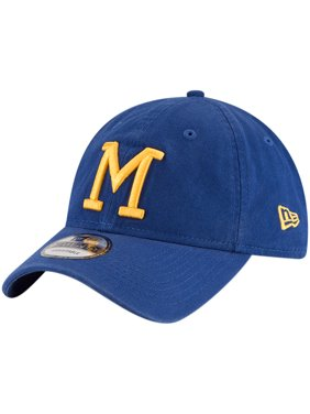 the best attitude 68b41 f21ff Product Image Milwaukee Brewers New Era Cooperstown Collection Core Classic  Replica 9TWENTY Adjustable Hat - Royal - OSFA