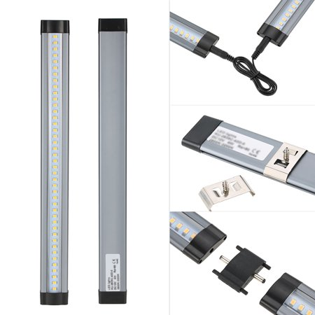 Tomshine Led Under Cabinet Lighting Kit 4 Pcs With Dimmer Smd2835 All Accessories Included For
