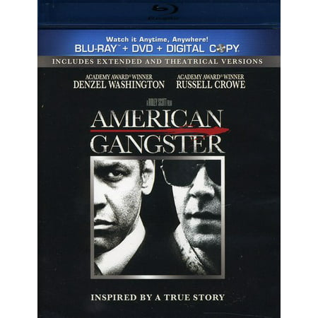 American Gangster (Unrated) (Blu-ray + DVD) - Halloween 2 Unrated