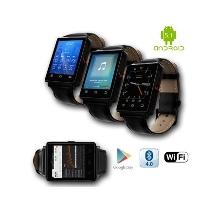 Indigi  New 2017 3G Android 5 1 Smart Watch Phone  Gsm Factory Unlocked  Maps   Wifi   Gps   Google Play Store