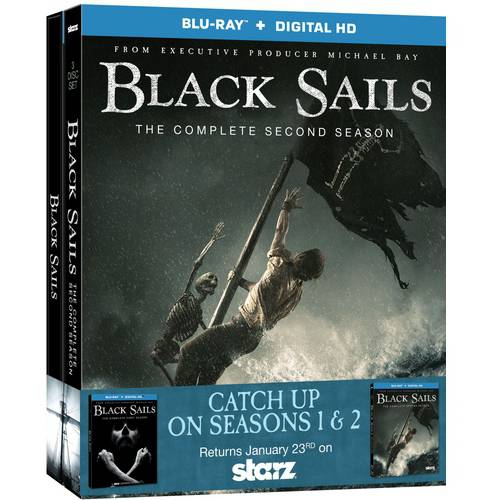 Black Sails Seasons 1 & 2 (Blu-ray   Digital HD)