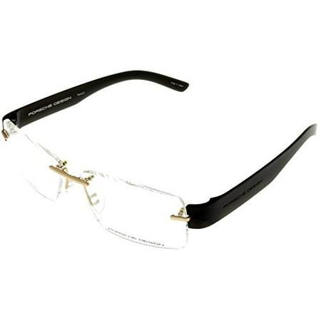 31a7eb5e1d Porsche Design Prescription Eyeglasses Frames Titanium Men P8206 A 56  Rimless Size  Lens  Bridge  Temple  56-14-145-35 - Walmart.com