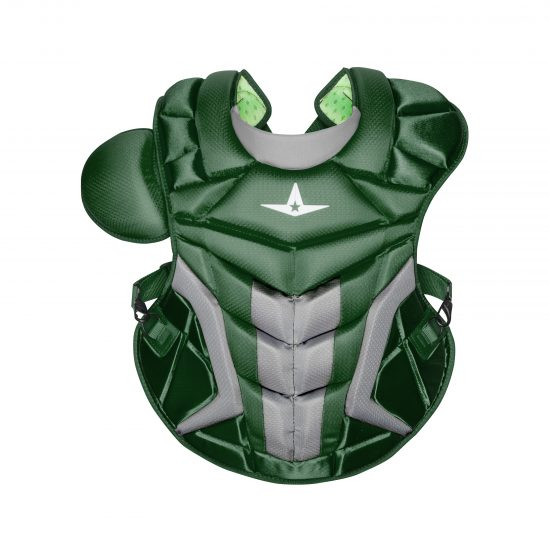 Allstar Adult System Seven Axis Chest Protector CP40PRO Dark Green