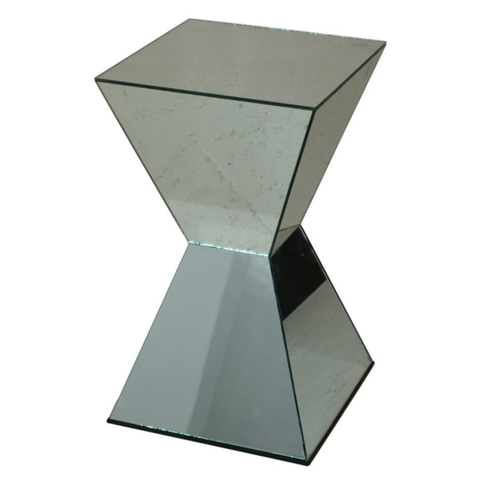 Click here to buy Alluring Mirrored Accent Table by Benzara.