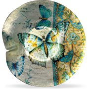 Angelstar Radiant Butterfly Round Plate