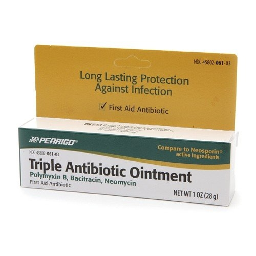 Perrigo Triple Antibiotic Ointment 1 oz (pack of 2)