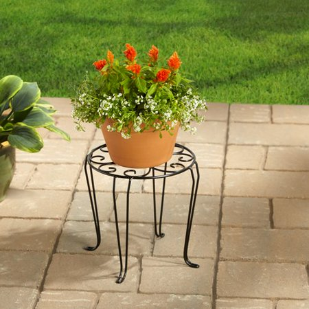 Better Homes And Gardens 10 Iron Scroll Plant Stand At