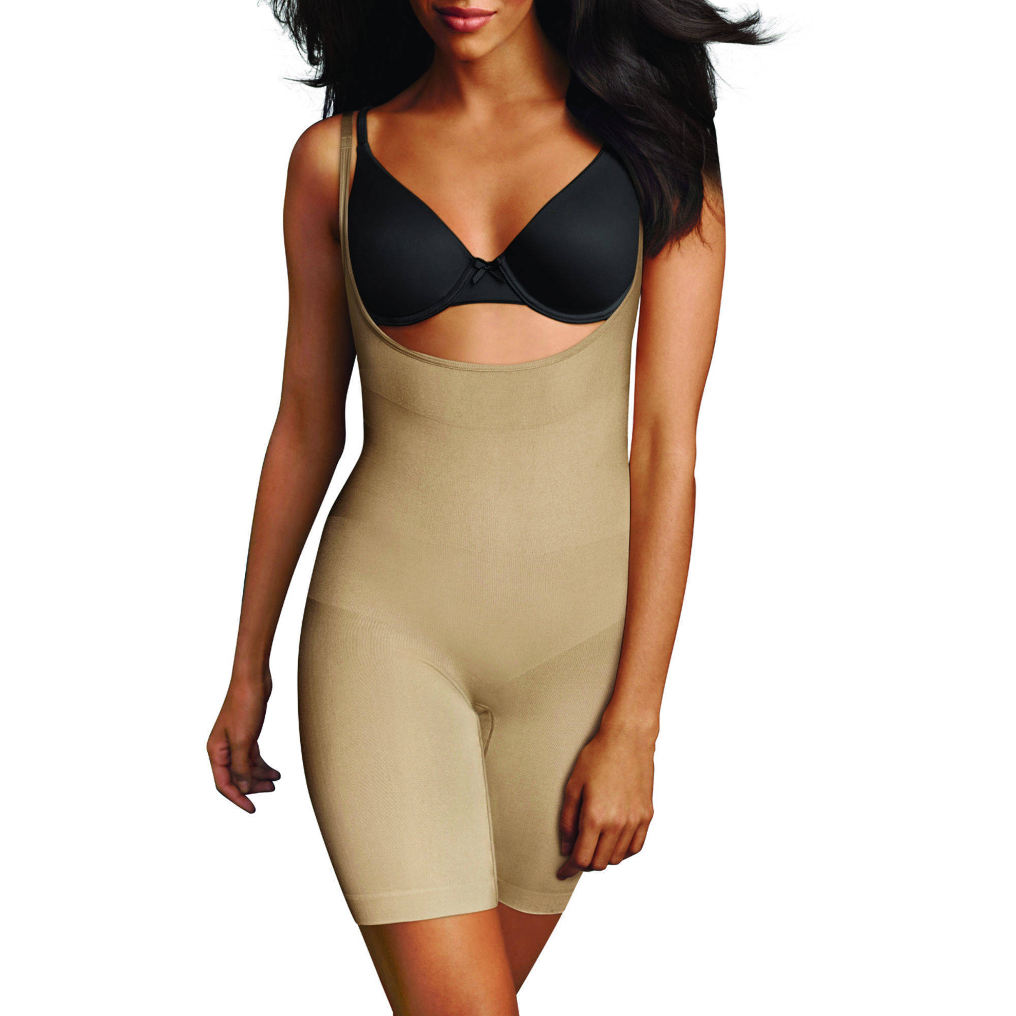 FLEXEES by Maidenform Wear Your Own Bra Seamless Shaping Singlet, 82466, Ultra Firm Control Shapewear