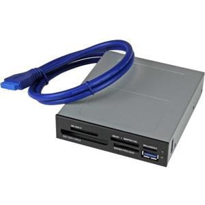 StarTech.com USB 3.0 Internal Multi-Card Reader with UHS-II Support - SD/Micro SD/MS/CF Memory Card Reader - SD, MultiMediaCard (MMC), SDXC, SDHC, miniSD, microSD, microSDHC, CompactFlash Type I,