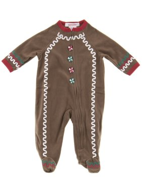 f98800d57c Sold   shipped by BCClothing. Product Image Pajamarama Boys Christmas  Gingerbread Man Footed Pajamas