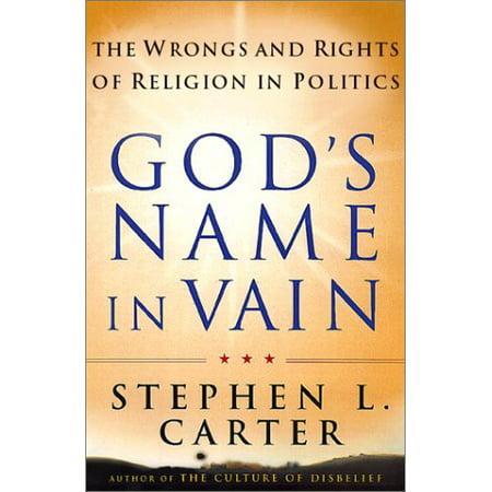 God's Name in Vain - image 1 of 1