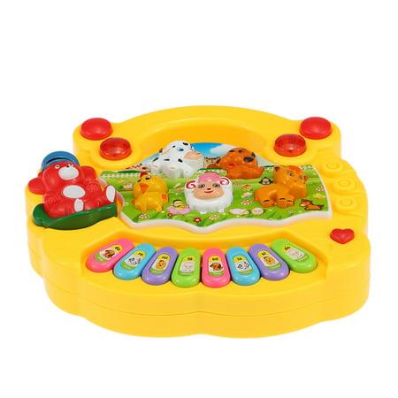 Coolplay Baby Kids Toddler Musical Educational Animal Farm Piano Electronic Keyboard Music Development Kids Toy - image 3 of 7