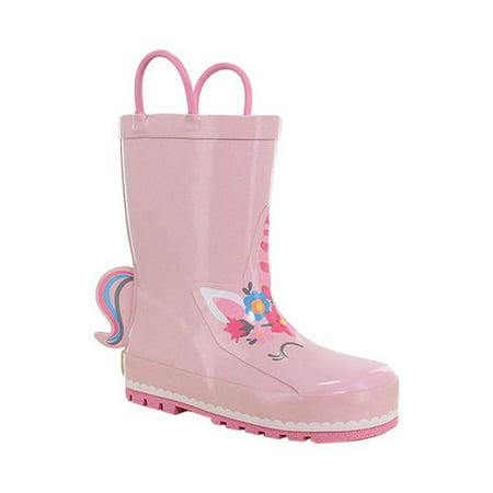 Western Chief Girls' Unity Unicorn Rain Boot
