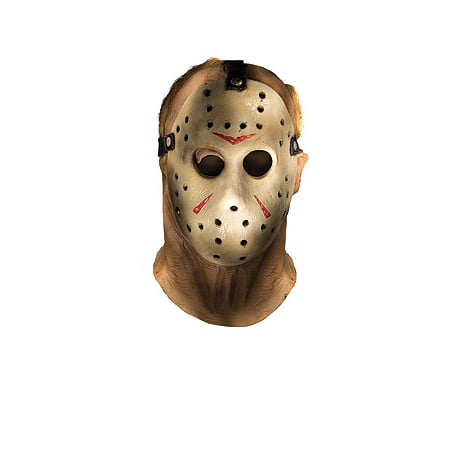 Friday The 13th Jason Adult Costume Mask](Jason From Friday The 13th Halloween Costume)