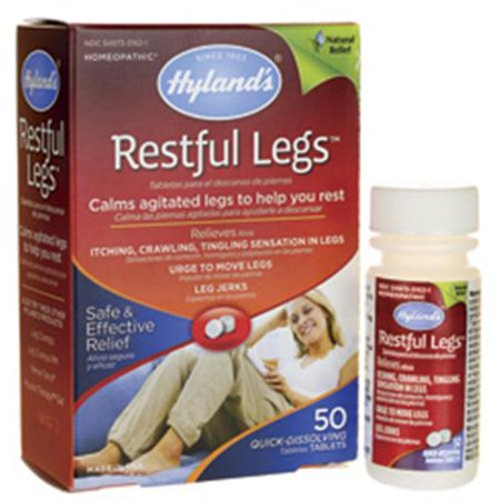 Hylands Restful Legs Tablets 50 Ea  Pack Of 6