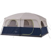 Deals on Ozark Trail 10 Person 2 Room Family Cabin Tent 14-ft x 10-ft