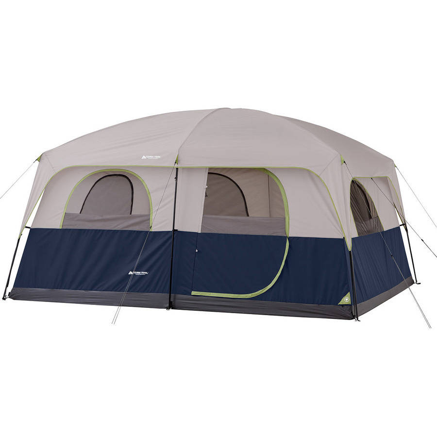 Ozark Trail 14 X 10 Family Cabin Tent Sleeps 10