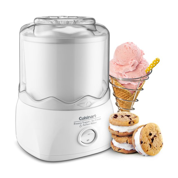 Cuisinart® ICE-20 Automatic 1-1/2-Quart Ice Cream Maker, White