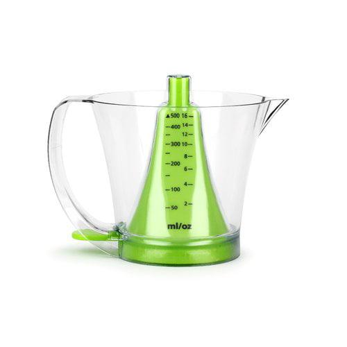 Urban Trend Reverso Funnel 2 Cups Plastic Measuring Cup Walmart Com Walmart Com