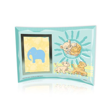 Trend Setters Lion King Best Friends Curved Glass Print With Photo