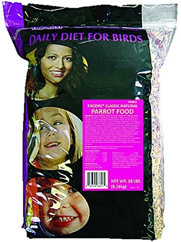 Brown's Encore Classic Natural Parrot Bird Food, 18 Lb by F.M. BROWN'S SONS, INC.