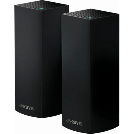 Linksys Velop Triband AC2200 Intelligent Mesh WiFi System | 2 Pack | Coverage up to 4,000 Sq Ft