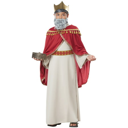 Kings Costume For Kids (Melchior, Wise Man (Three Kings) Child)