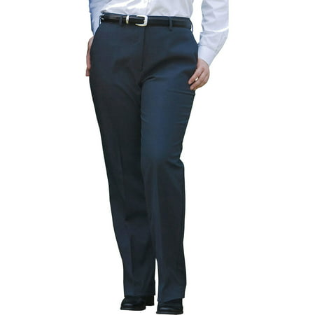Edwards Garment Women's Wool Blend Flat Classic Dress Pant