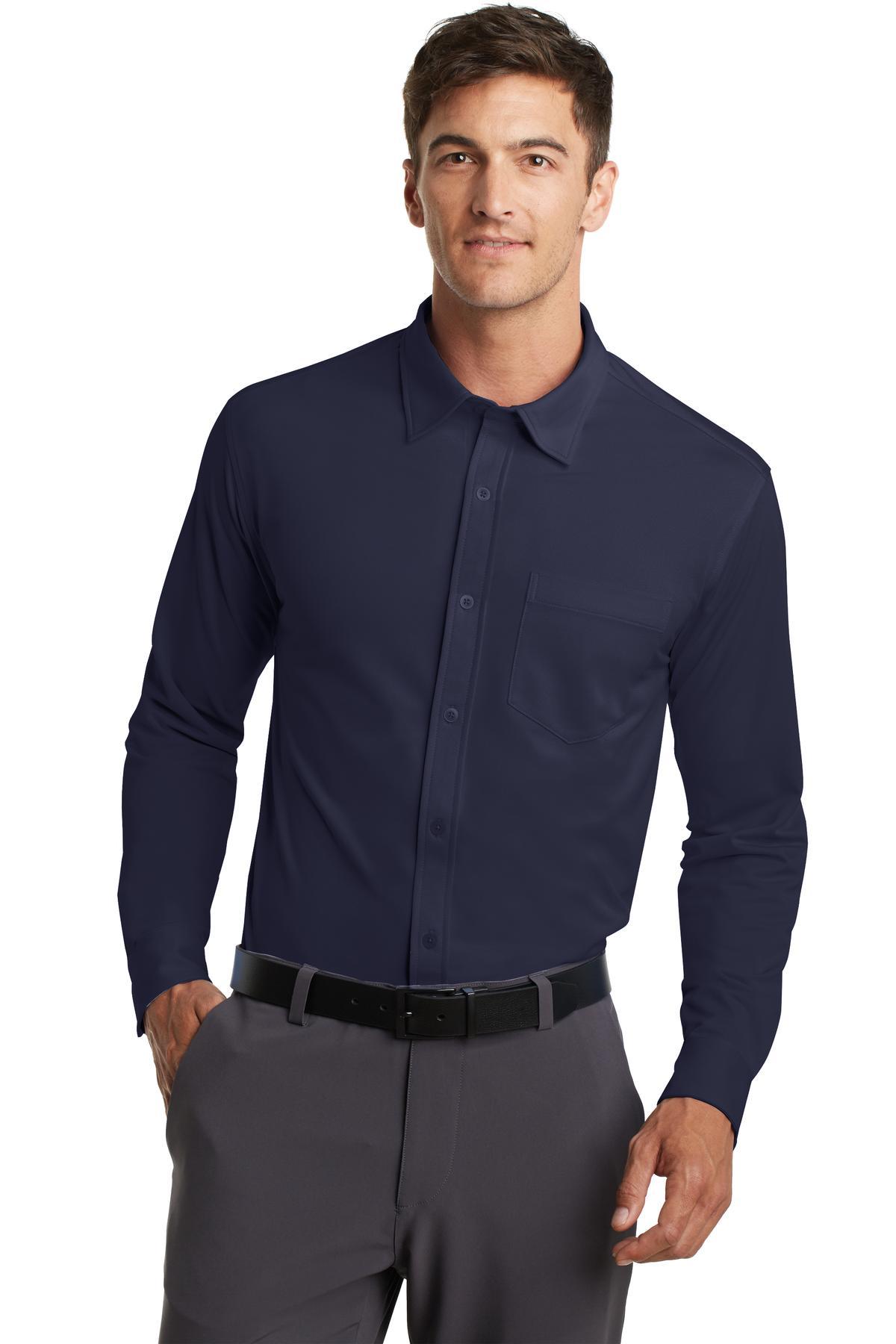 Navy Dress Shirt