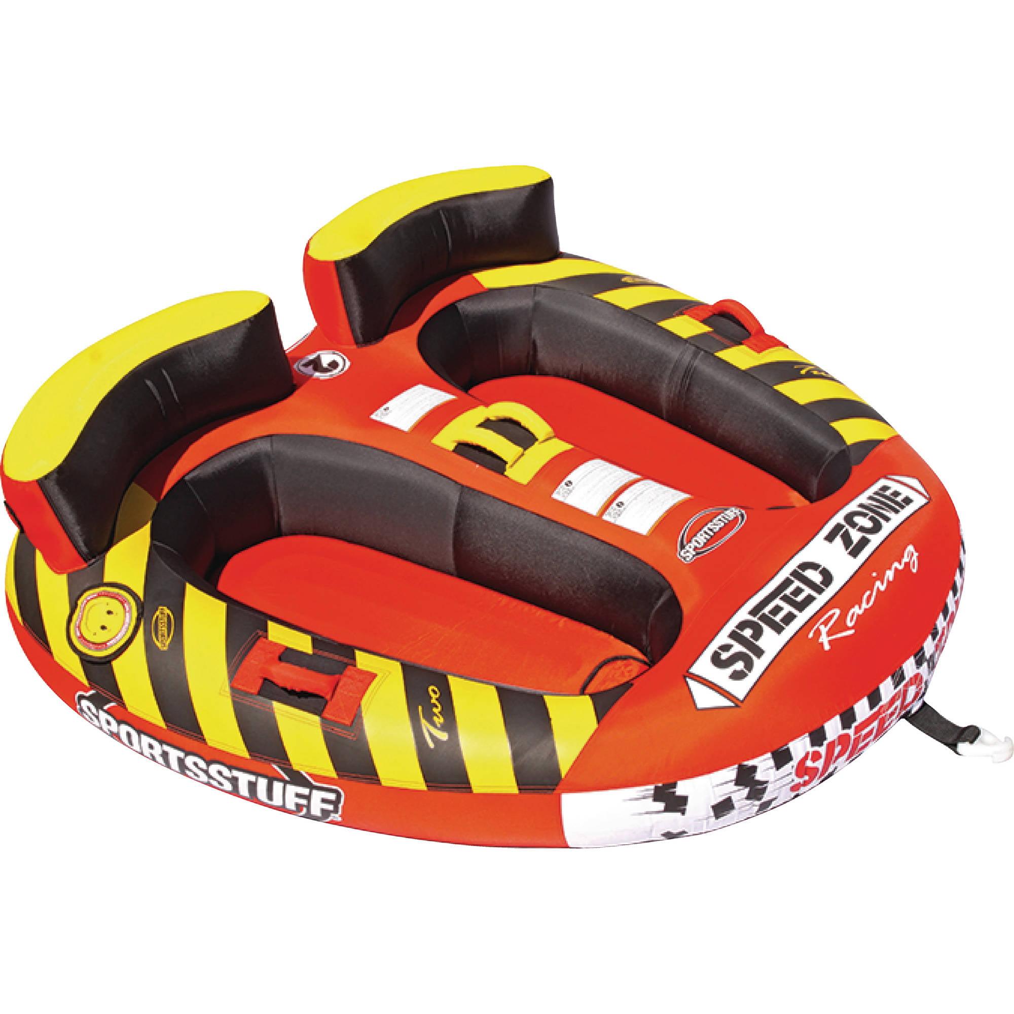 SportsStuff Inflatable Speed Zone Racing Cockpit Wakeboar...