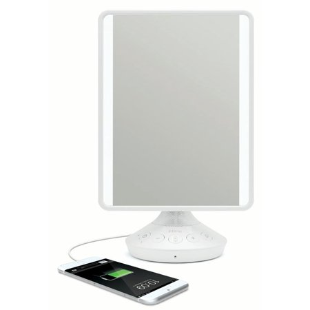 Ihome Reflect Led Vanity Mirror With Bluetooth Audio