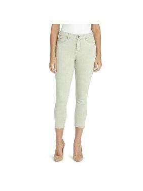 Nine West Gramercy Skinny Ankle Jean in Sea Grass, Size 8