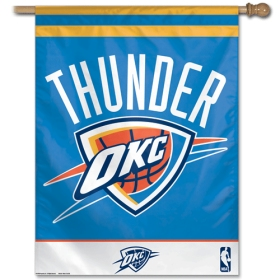 Wincraft, Inc. Oklahoma City Thunder Vertical Flag