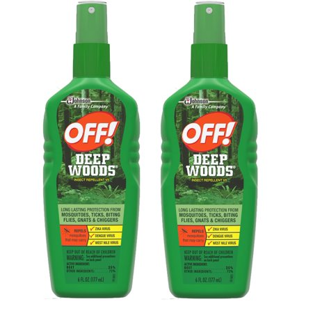 Buzz Off Mosquito (OFF! Deep Woods Insect Repellent VII, 6 oz (2 pack) )