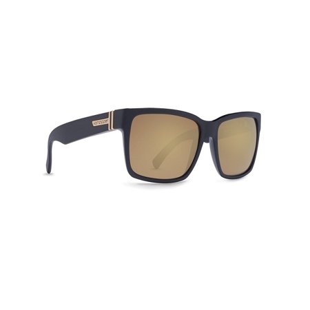 VON ZIPPER BATTLESTATIONS ELMORE SUNGLASSES Black Satin Gold Chrome (Womens Von Zipper Sunglasses)