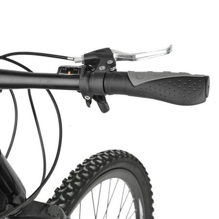 Qiilu 1Pair Anti-slip Bicycle Ergonomic Handle Handlebar Rubber Grips Cycling Accessories , Bicycle Handbar Grips,Handlebar Grips - image 1 of 7
