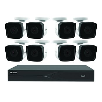 LaView 8 Channel DVR Security System with 8x Cameras + $10 GC