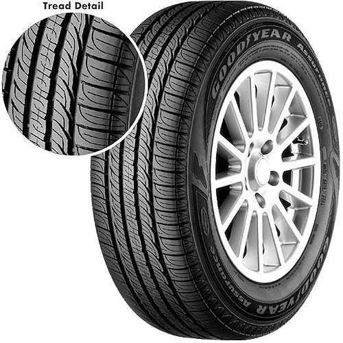 Goodyear Assurance ComforTred Tire 235/60R17