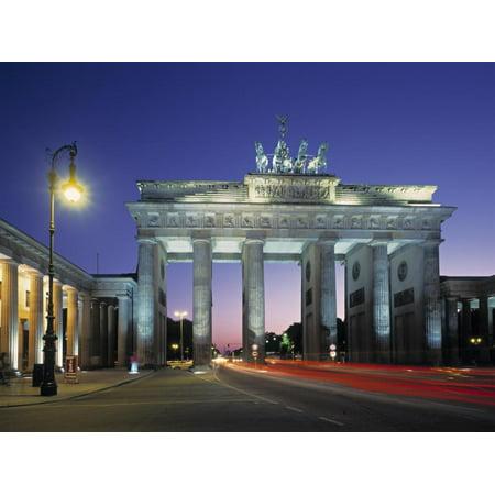 Brandenburg Gate, Berlin, Germany Print Wall Art By Jon -