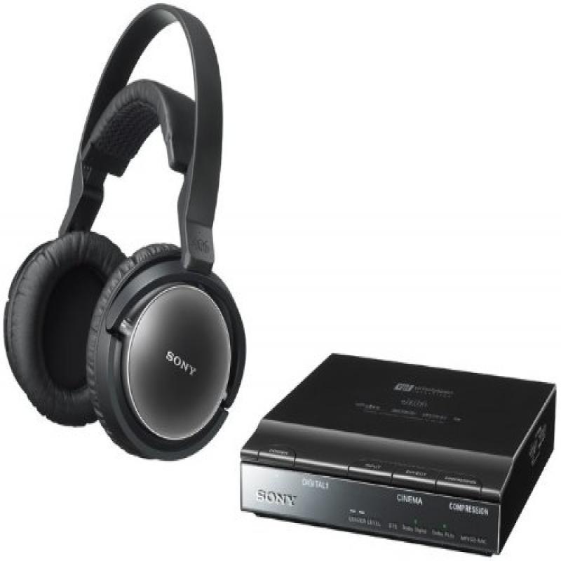 Sony Wireless Stereo Surround Headphone System MDR-DS7100...