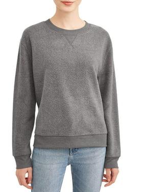 No Boundaries Juniors' Crewneck Sweatshirt